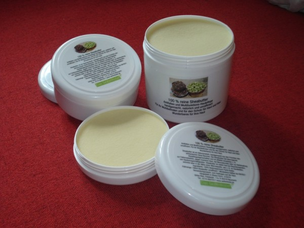 Reine Sheabutter 500ml