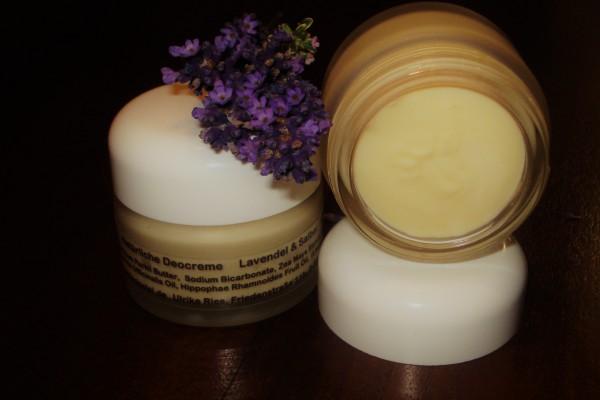 Natürliche Deocreme Lavendel/Salbei