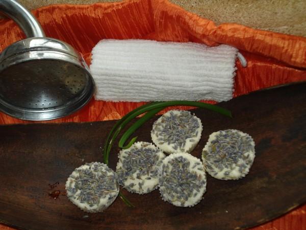 Shea Sprudeltörtchen Lavendel